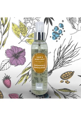 Hair & Body Mist - Cardamom & Sandalwood