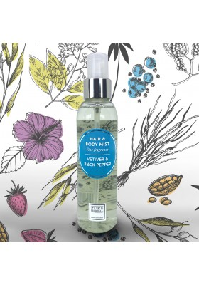 Hair & Body Mist - Vetiver & Black Pepper